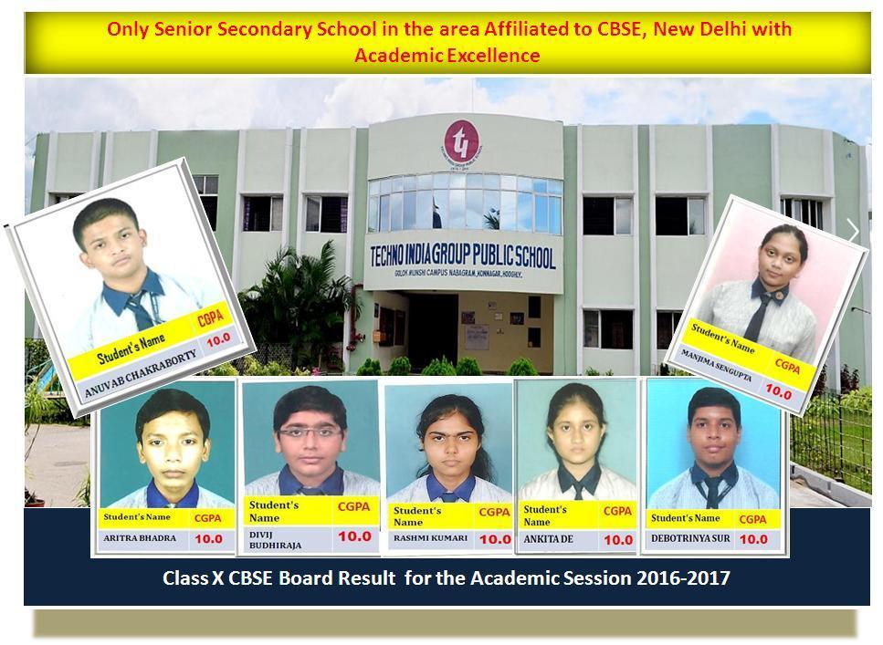 Class X CBSE Board Results