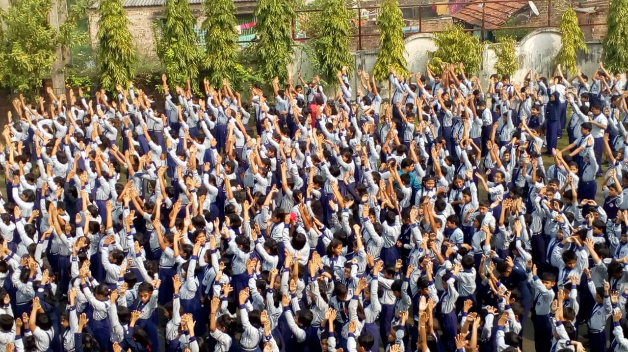 Report and Photographs of School activities, Fit India School week | Day 1