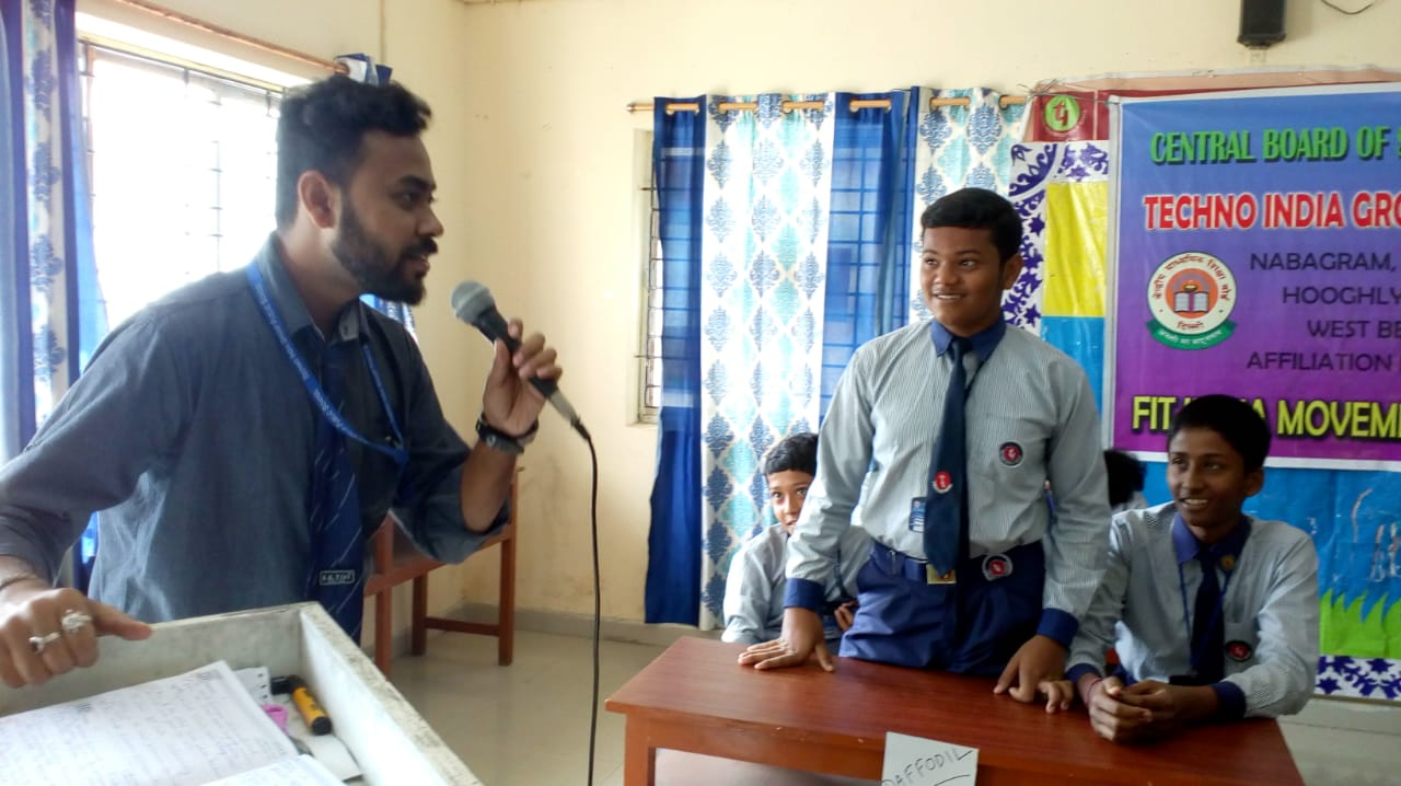 Report and Photographs of School activities, Fit India School week   Day 5